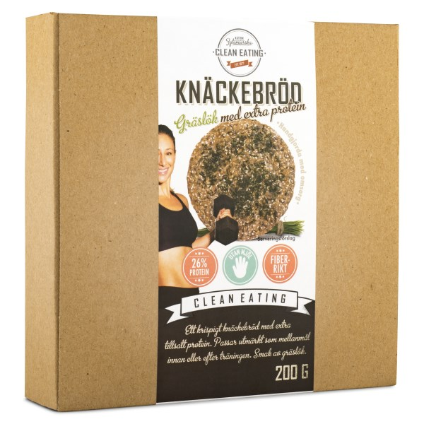 Clean Eating Knäckebröd 200 g Protein