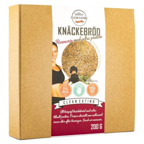 Clean Eating Knäckebröd 200 g Protein m Rosmarin
