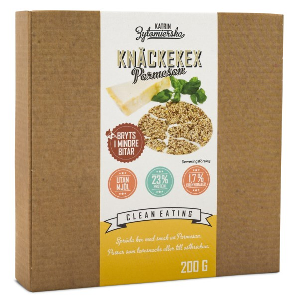 Clean Eating Knäckekex 1 paket Parmesan