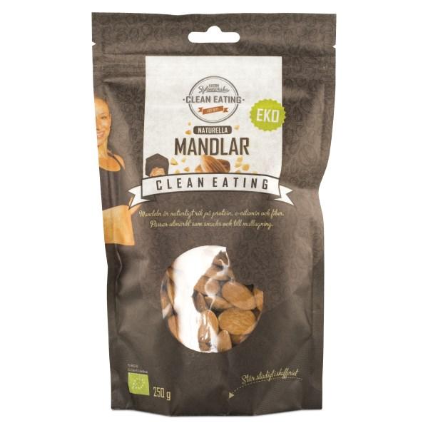 Clean Eating Mandel EKO 250 g