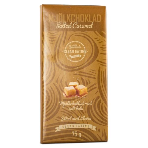 Clean Eating Mjölkchoklad 75 g Saltad Karamell