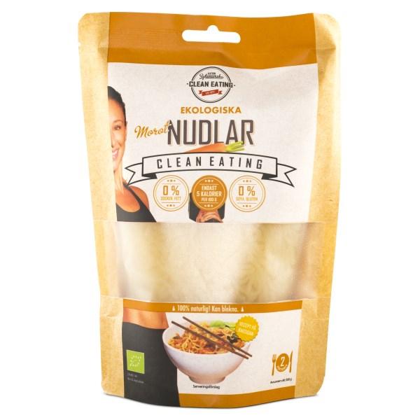 Clean Eating Nudlar EKO 300 g Morot