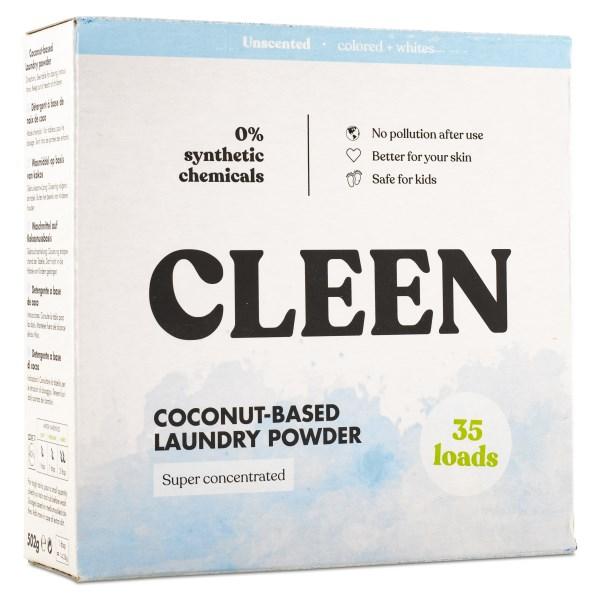 Cleen Kokos-baserat Tvättmedel 35 tvättar