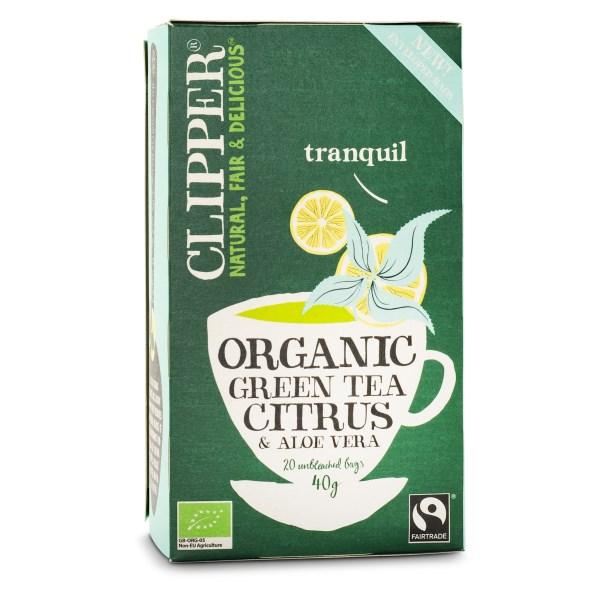 Clipper Green Tea Aloe Vera EKO 20 påsar