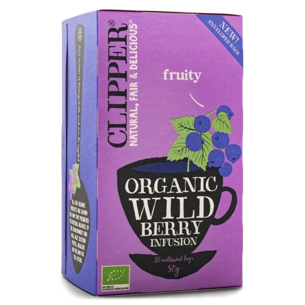 Clipper Tea Wild Berry EKO 20 påsar