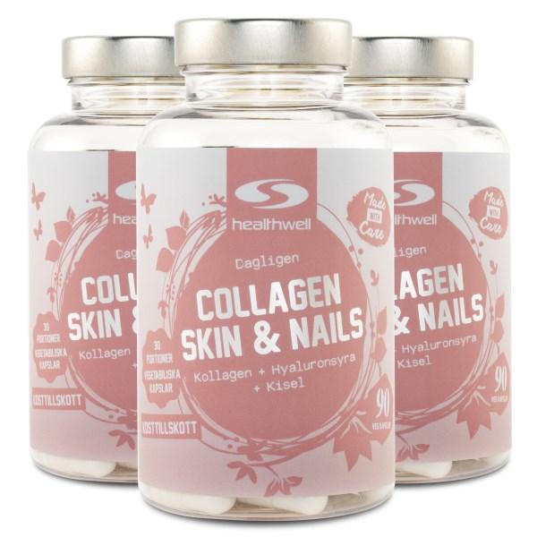 Collagen Skin & Nails 270 kaps