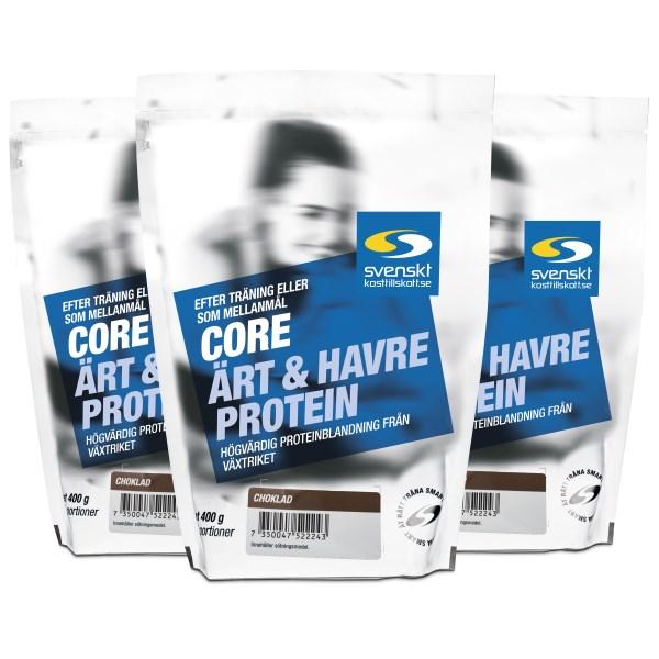 Core Ärt- och Havreprotein Choklad 1,2 kg