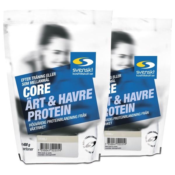 Core Ärt- och Havreprotein Vanilj 800 g