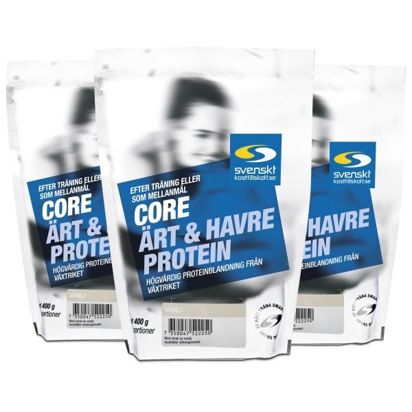 Core Ärt- och Havreprotein Vanilj 1,2 kg