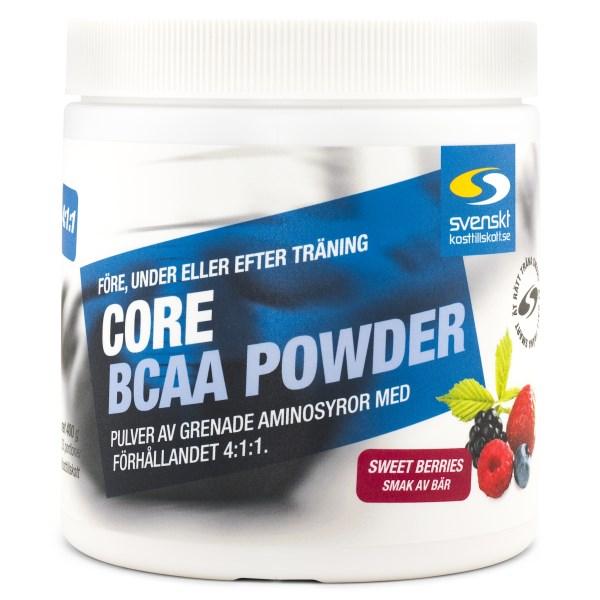 Core BCAA Powder Sweet Berries 400 g