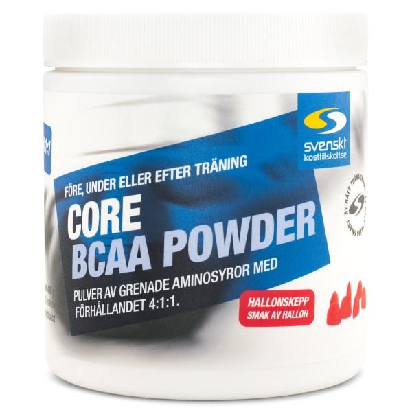 Core BCAA Powder Hallonskepp 400 g
