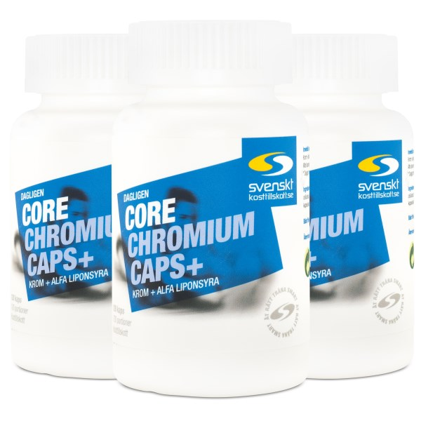 Core Chromium Caps+ 360 kaps