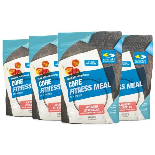 Core Fitness Meal 2,24 kg Jordgubb vitchoklad