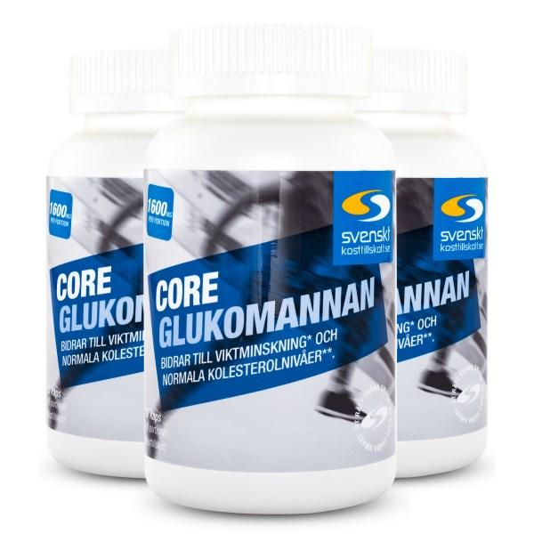 Core Glukomannan 270 kaps