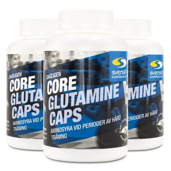 Core Glutamine Caps 540 kaps