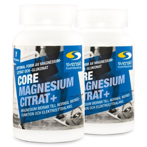 Core Magnesium Citrat+ 200 kaps