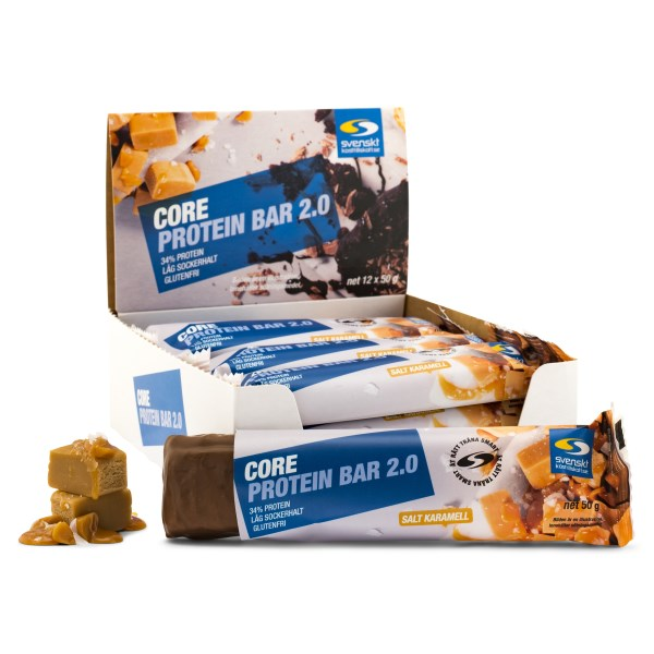 Core Protein Bar 2.0 Salt karamell 12-pack