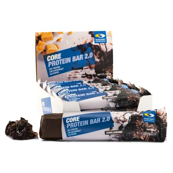 Core Protein Bar 2.0 Chokladbomb 12-pack