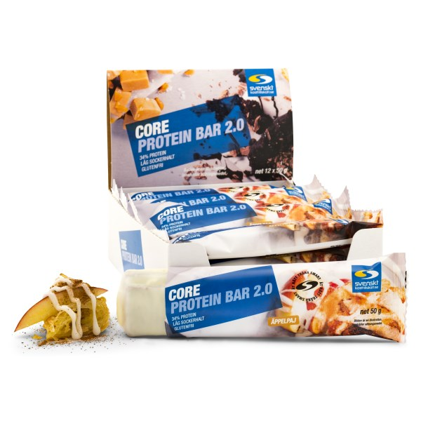 Core Protein Bar 2.0 Äppelpaj 12-pack