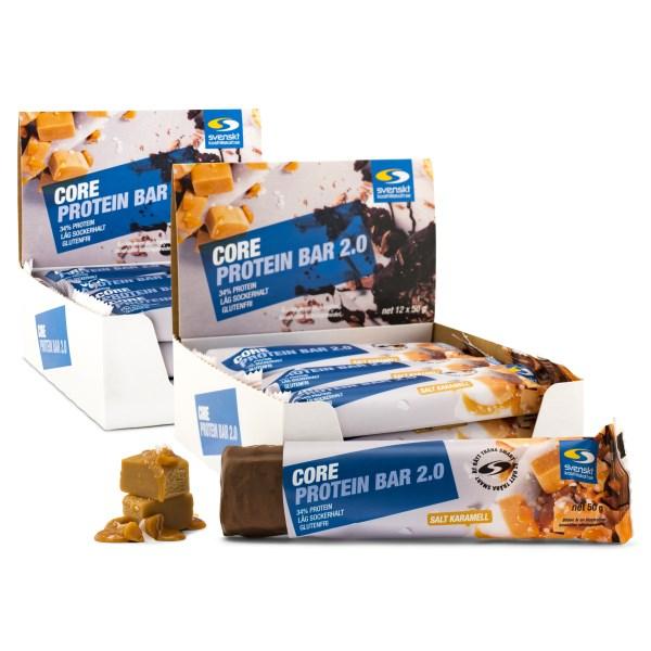 Core Protein Bar 2.0 Salt karamell 24-pack