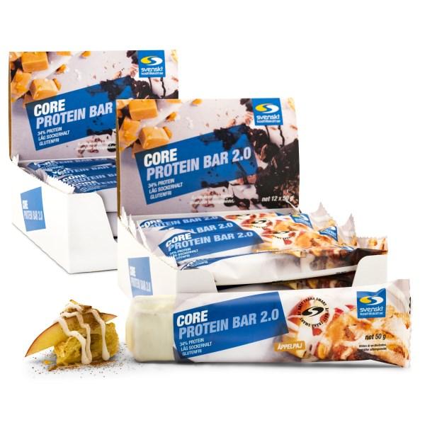 Core Protein Bar 2.0 Äppelpaj 24-pack