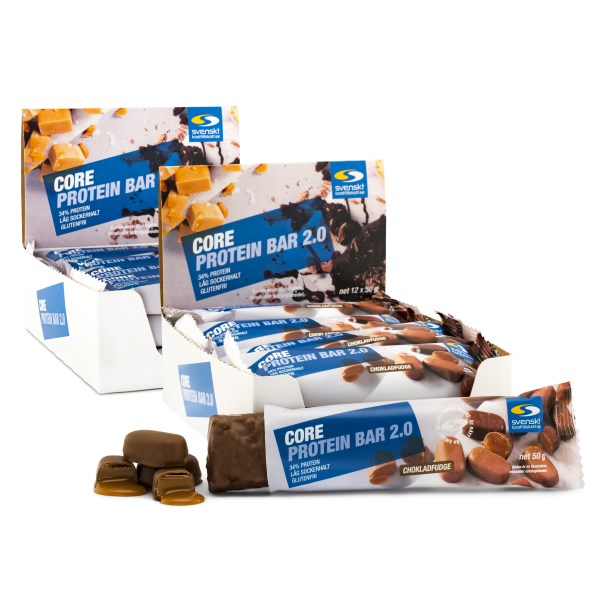 Core Protein Bar 2.0 Chokladfudge 24-pack