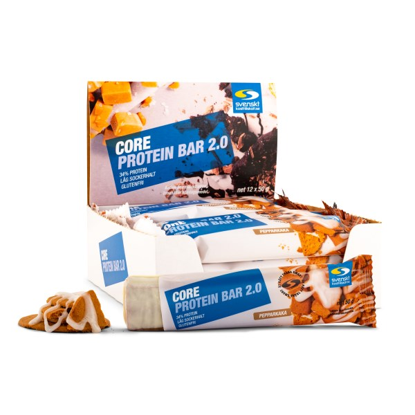 Core Protein Bar 2.0 Pepparkaka 12-pack