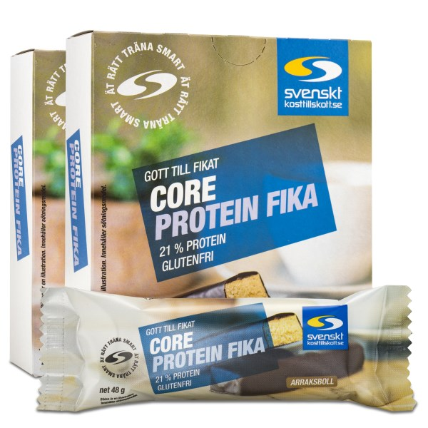 Core Protein Fika Arraksboll 12-pack