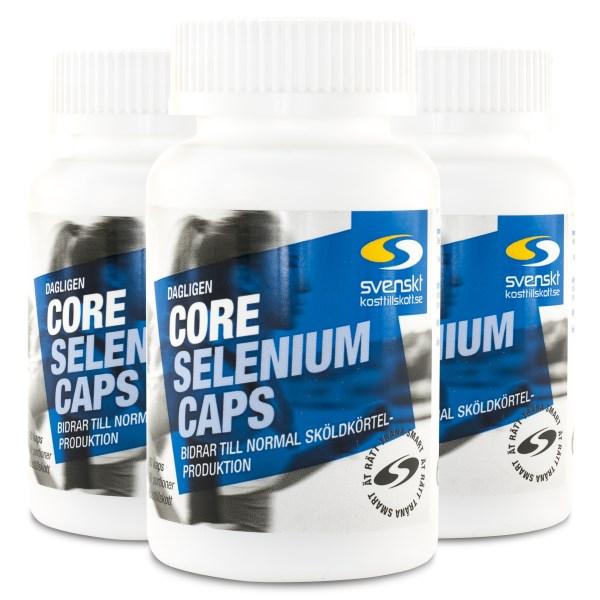Core Selenium Caps 270 kaps