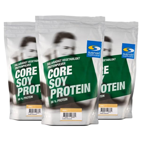 Core Soy Protein Vanilj 3 kg