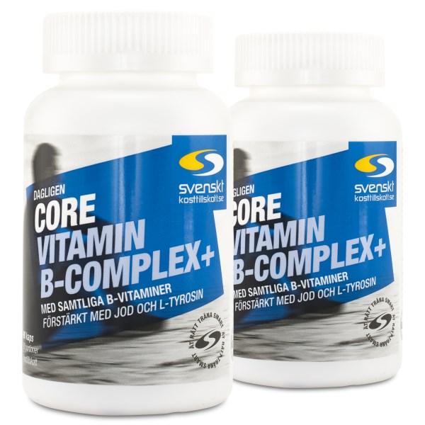 Core Vitamin B-Complex+ 180 kaps