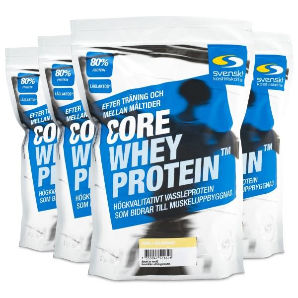 Core Whey Protein Vanilj Milkshake 4 kg