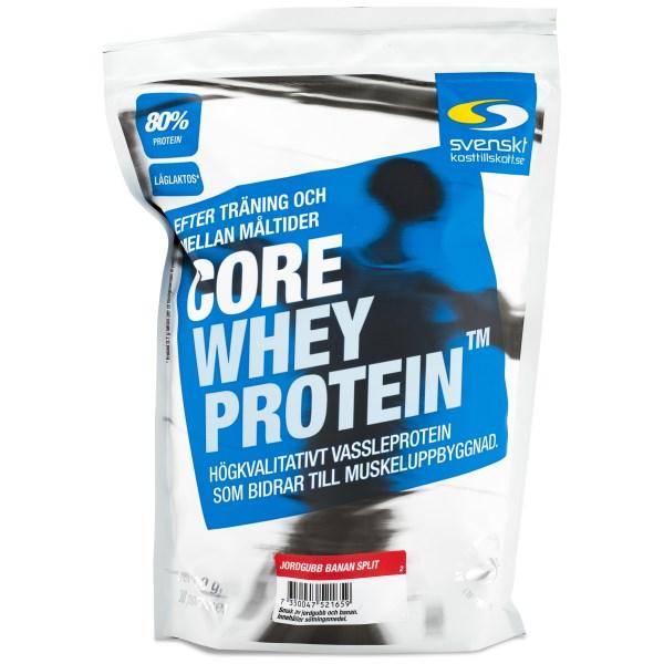 Core Whey Protein Jordgubb Banan Split 1 kg