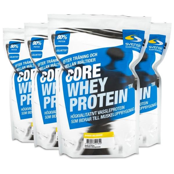 Core Whey Protein Banan Milkshake 4 kg