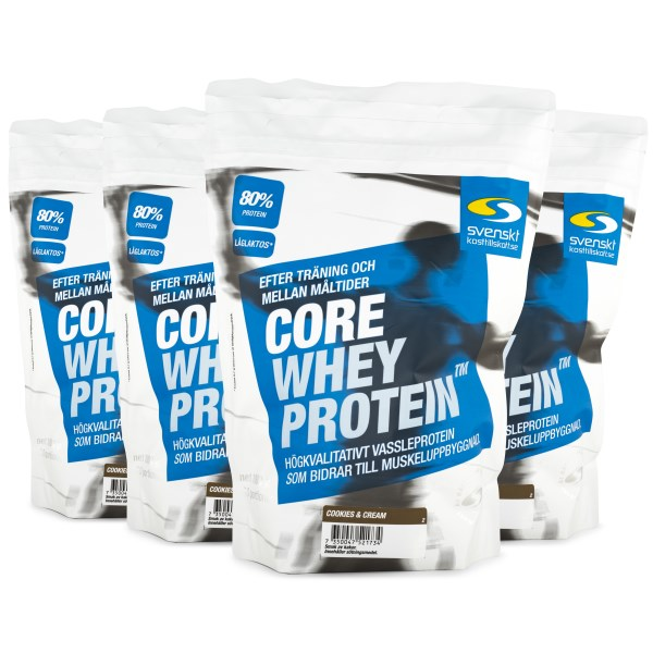 Core Whey Protein Cookies & Cream 4 kg