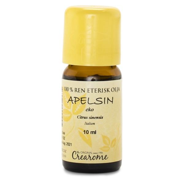 Crearome Eterisk Apelsinolja EKO 10 ml