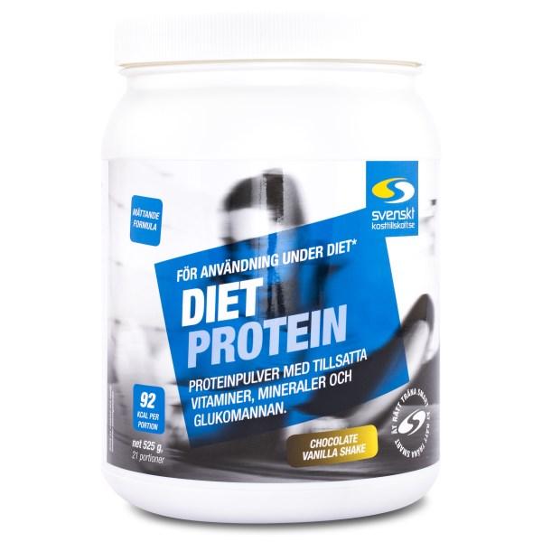 Diet Protein Choklad & vanilj 525 g