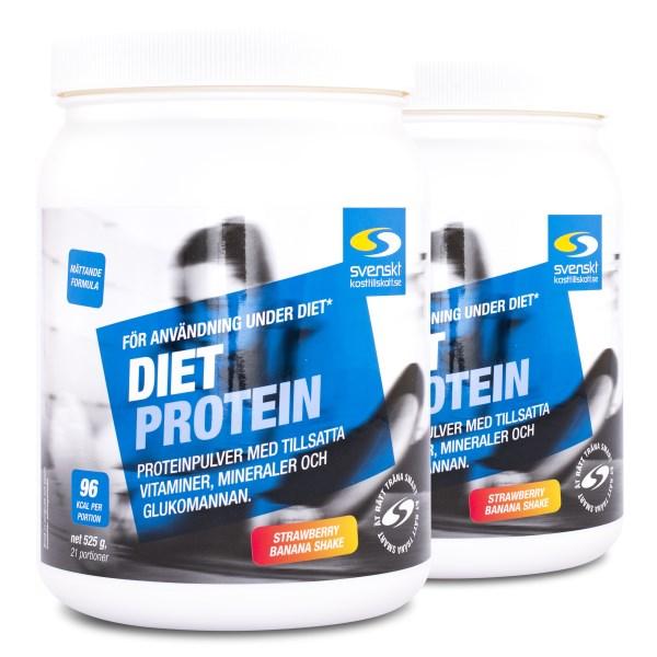 Diet Protein Jordgubb & banan 1050 g