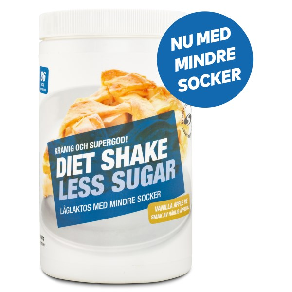 Diet Shake Less Sugar Vanilla Apple Pie 420 g