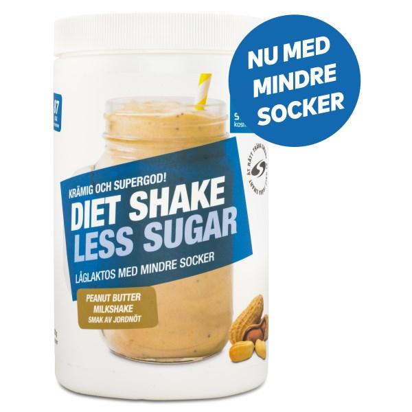 Diet Shake Less Sugar Peanut Butter Milkshake 420 g