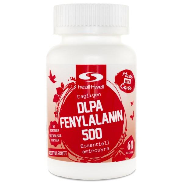DLPA Fenylalanin 500 60 kaps