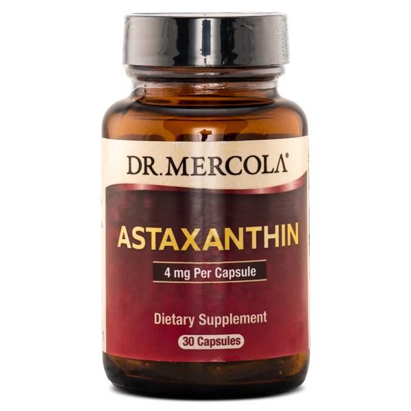 Dr Mercola Astaxantin 30 kaps