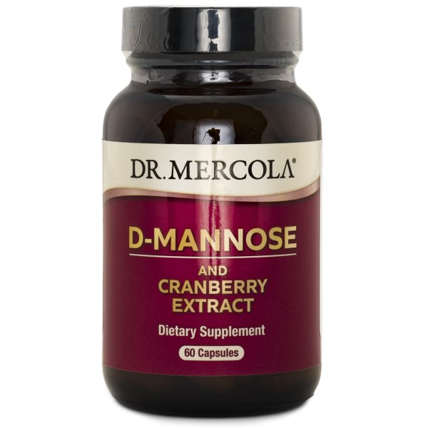Dr Mercola D-Mannose and Cranberry 60 kaps