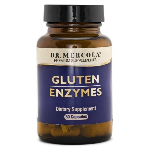 Dr Mercola Gluten Enzymes 30 kaps