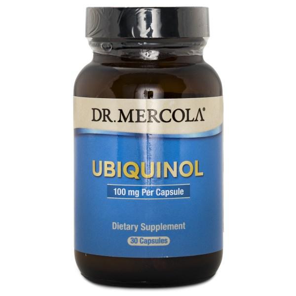 Dr Mercola Ubiquinol 100 mg 30 kaps