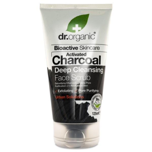Dr Organic Aktivt Kol Ansiktspeeling 125 ml