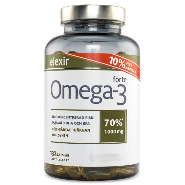Elexir Pharma Omega-3 Forte 132 kaps