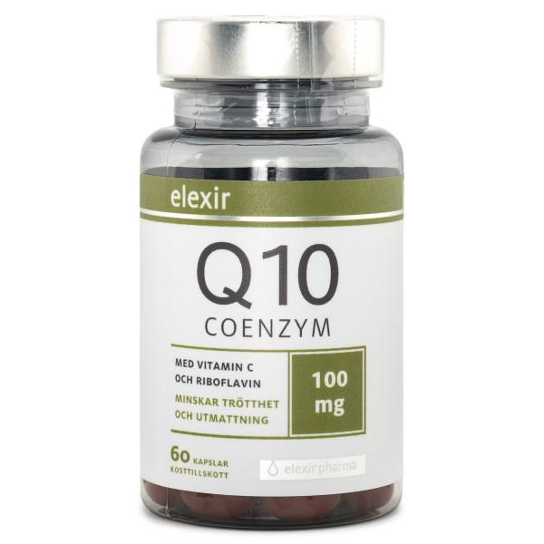 Elexir Pharma Coenzyme Q10 100 mg 60 kaps