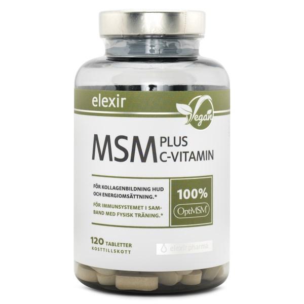 Elexir Pharma MSM + C-vitamin 120 tabl