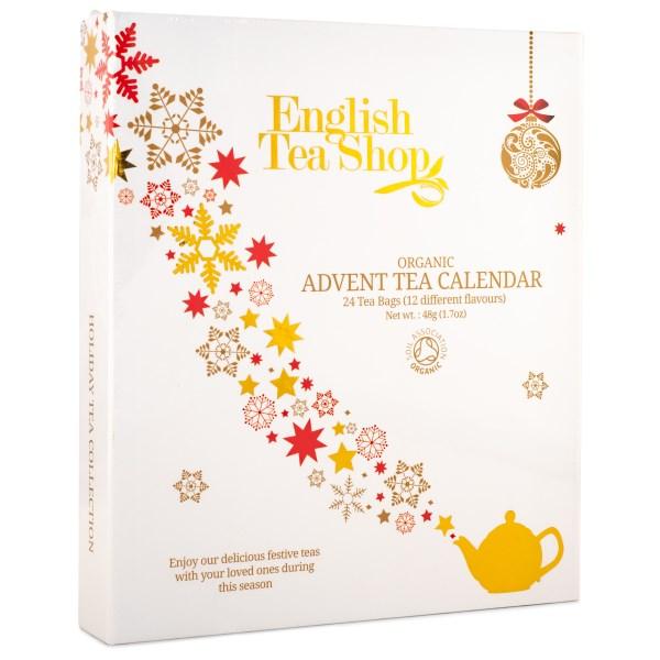 English Tea Shop Adventskalender Vit Bok EKO 1 st